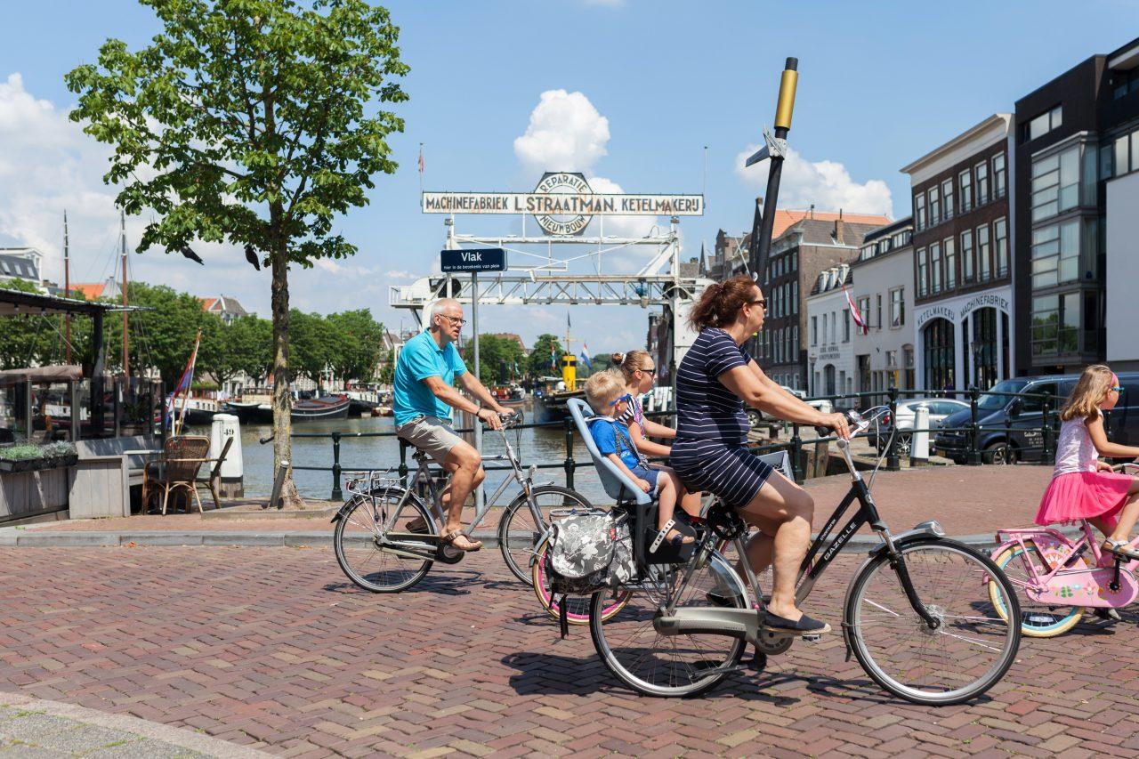 Wonen Dordrecht - Fietsen - Dok Straatman - Kuipershaven