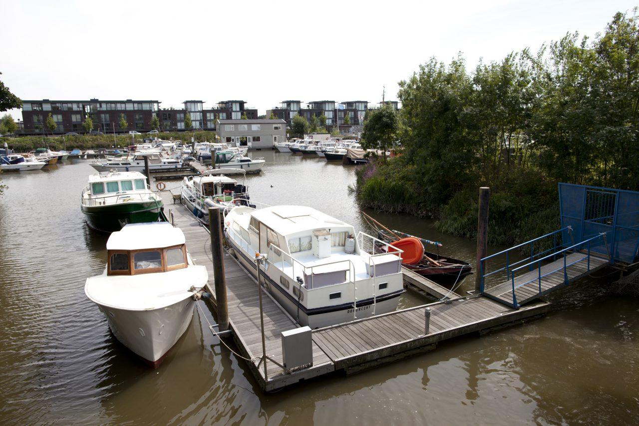 Wonen Dordrecht - Plantij - haven - boot