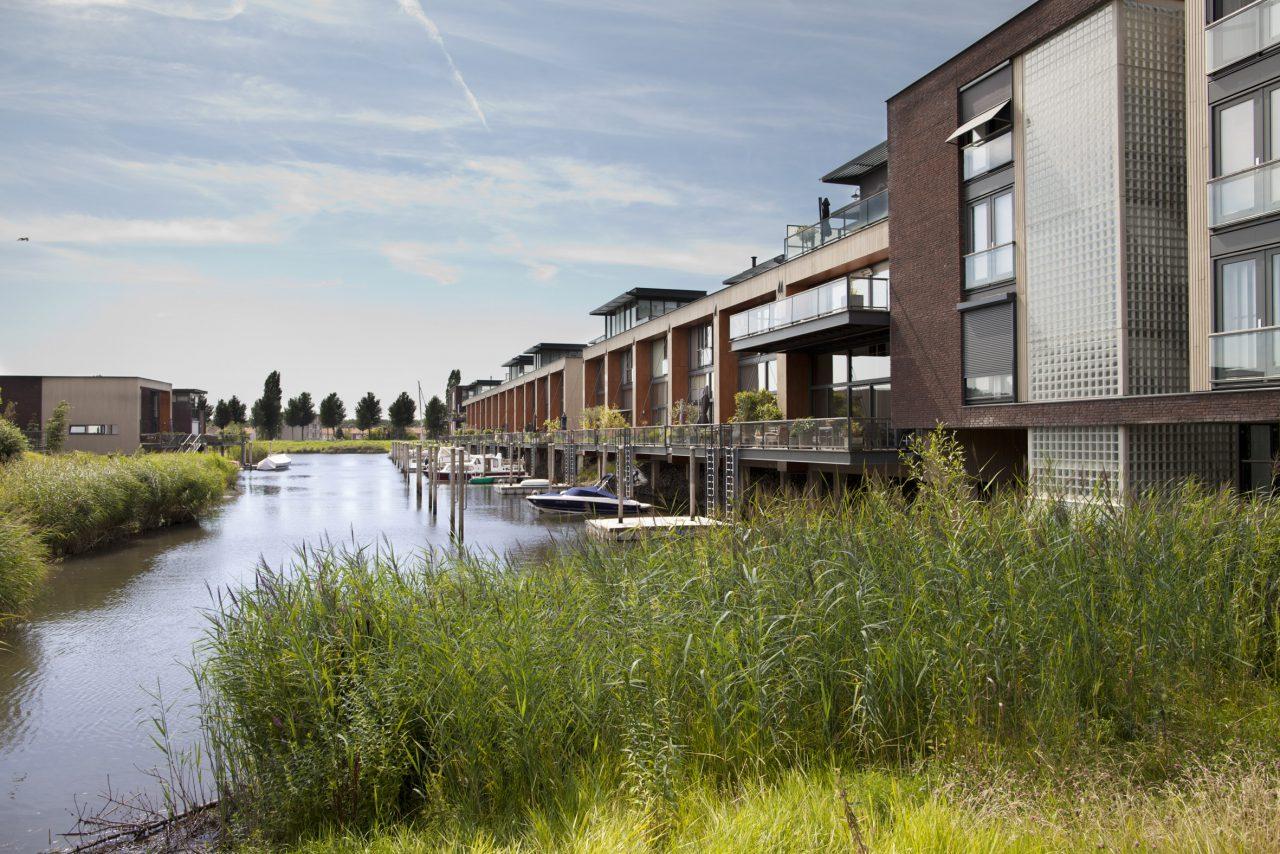 Wonen Dordrecht - Plantij - water - aanlegsteiger