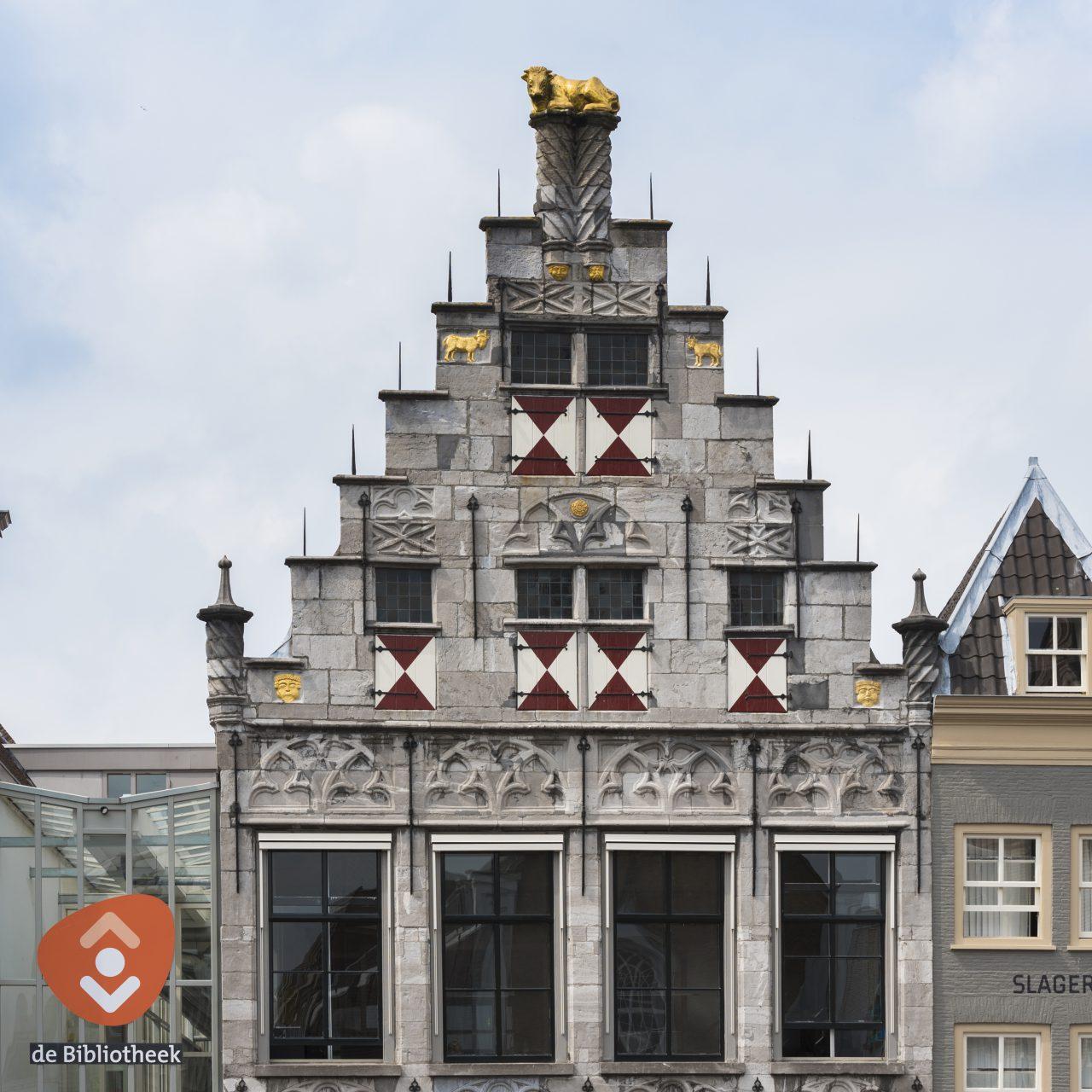 De Gulden Os - Dordrecht - monument - bibliotheek