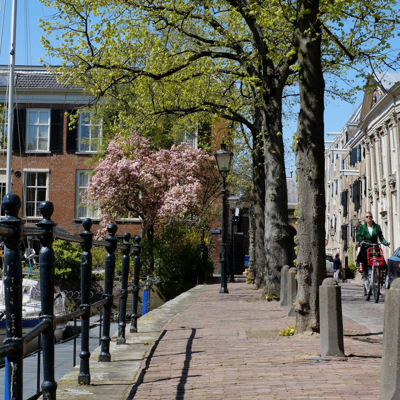 Dordrecht - stadsbeeld - Korte Engelenburgerkade - Maartensgat - jachthaven