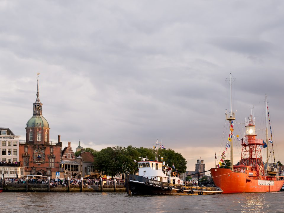 Dordt in Stoom - Dordrecht - Groothoofd - Groothoofdspoort - drierivierenpunt - stoomboot - vlootschouw