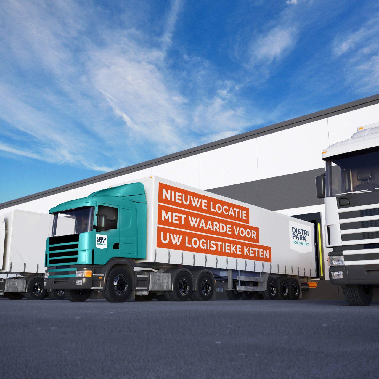 Economie - DistriPark Dordrecht - Transport - Vrachtwagen