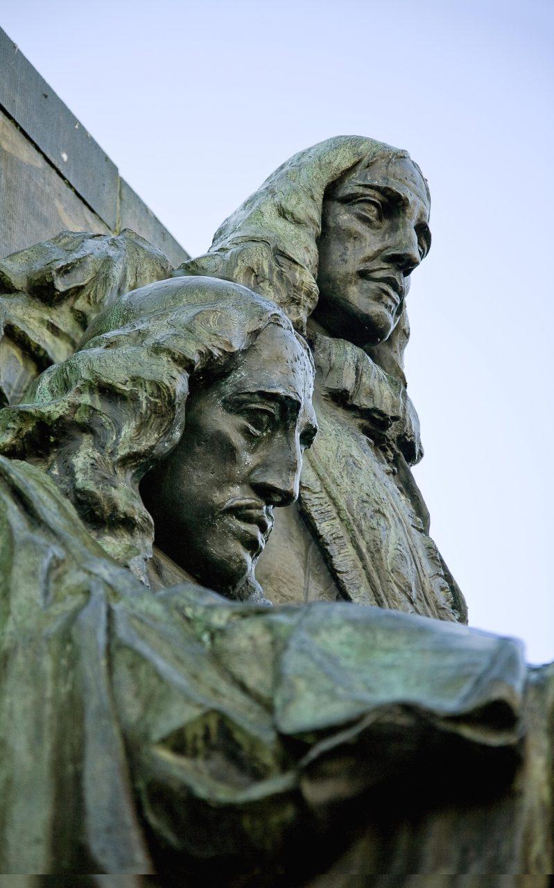 Gebroeders de Witt - Dordrecht - monument - standbeeld
