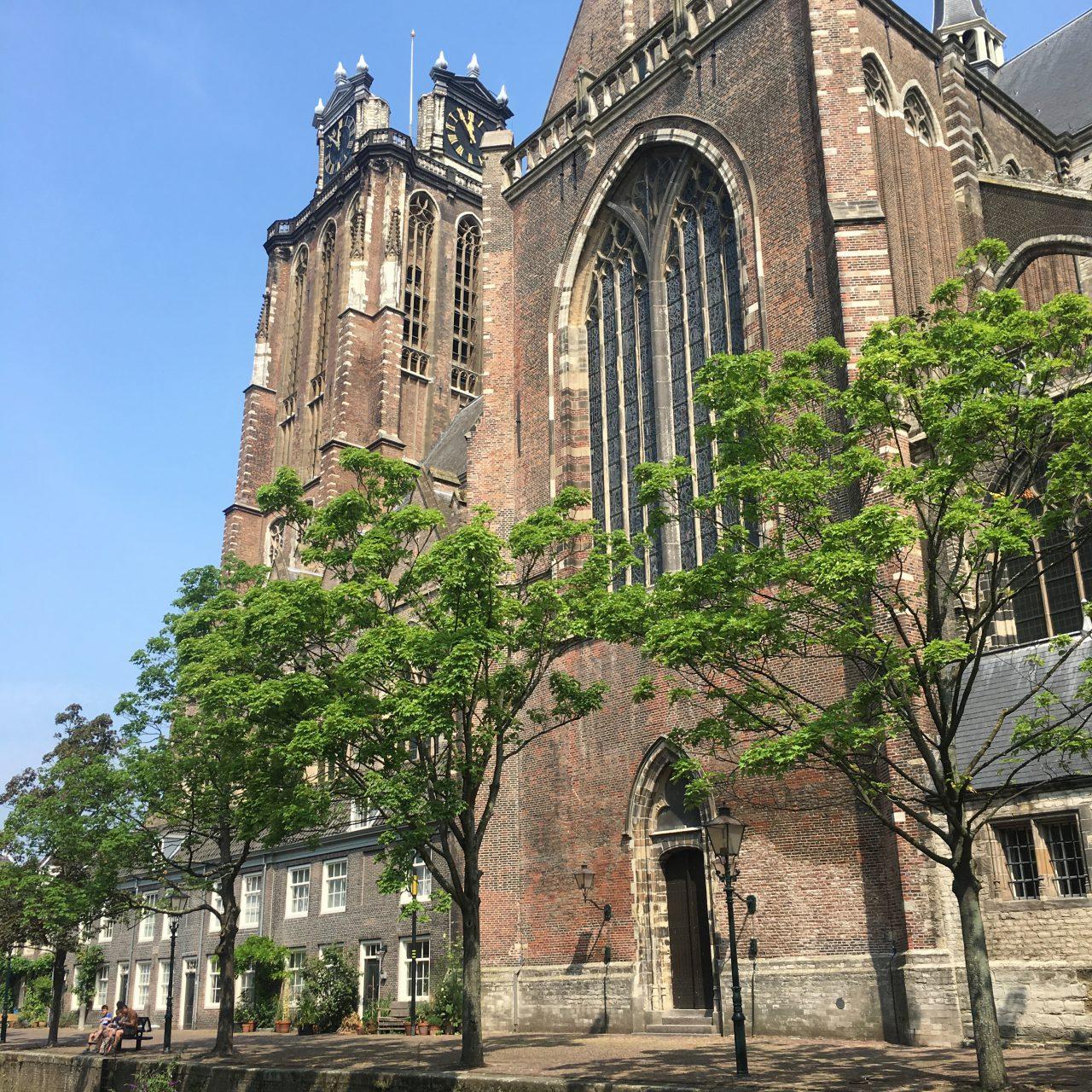 Grote Kerk - Dordrecht - monument - Voorstraathaven - Pottenkade