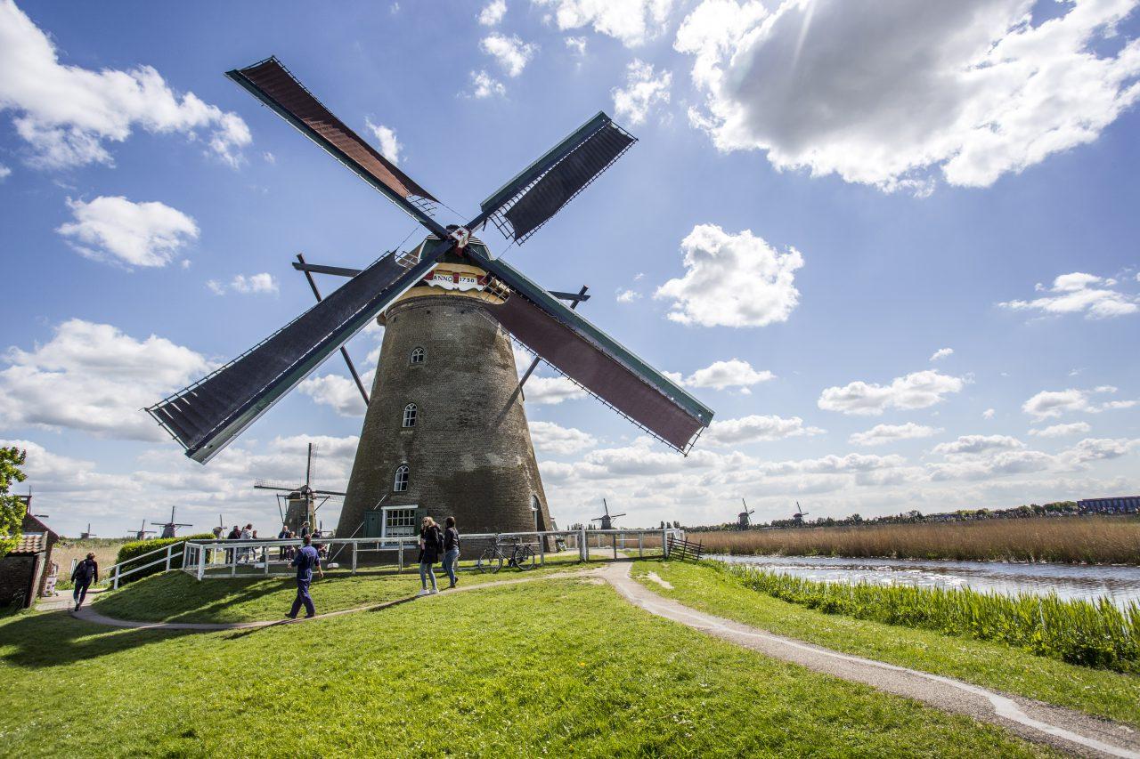 Kinderdijk - toerisme - molen - Museummolen Nederwaard