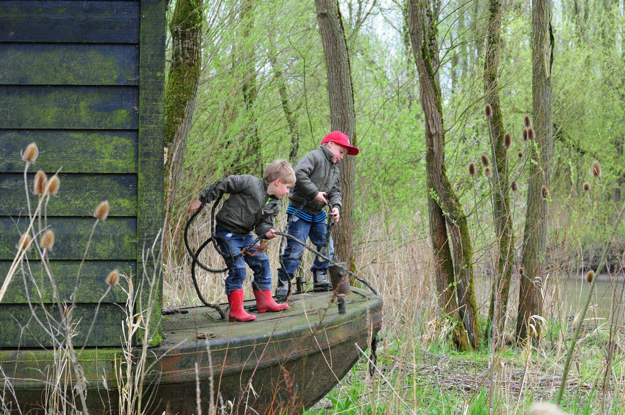 Nationaal Park de Biesbosch - Dordrecht - kinderen