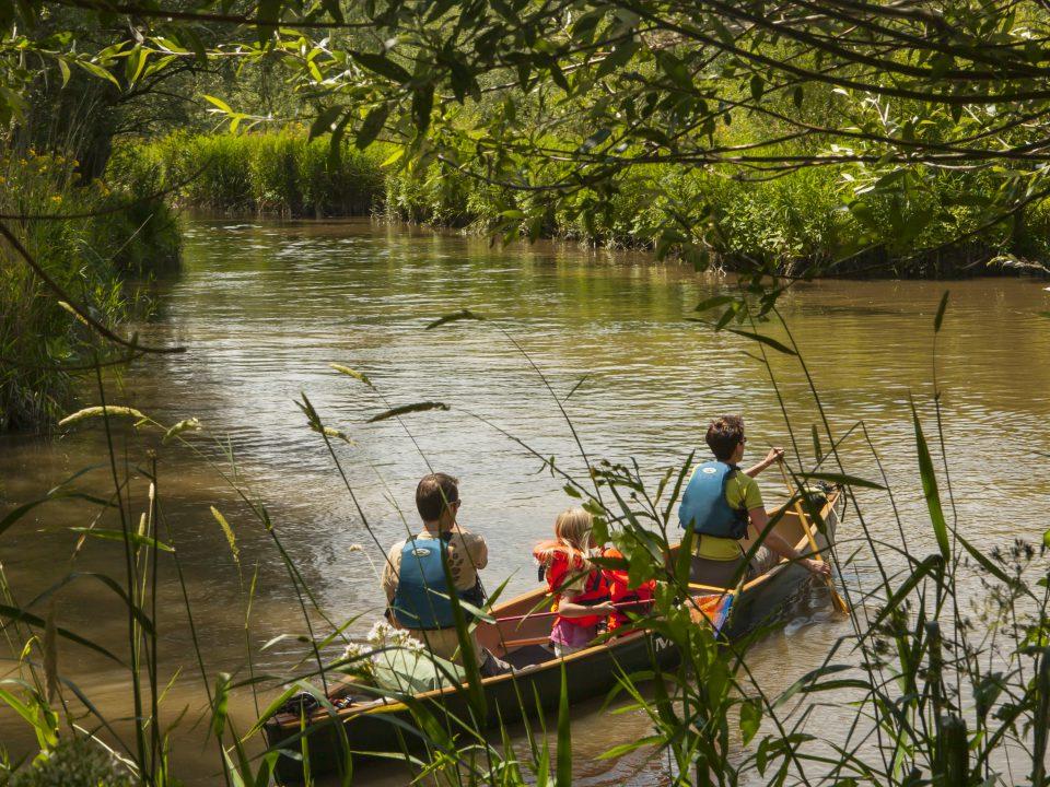 Nationaal Park de Biesbosch - Dordrecht - toerisme - kano - water - varen - kinderen