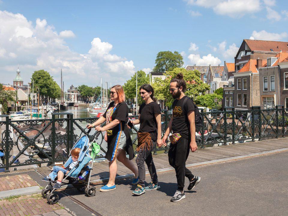Nieuwbrug - Dordrecht - toerisme - wandelen - kinderen - Wijnhaven